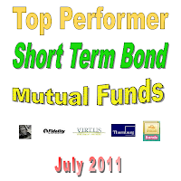 Top 10 Short Term Bond Mutual Funds July 2011