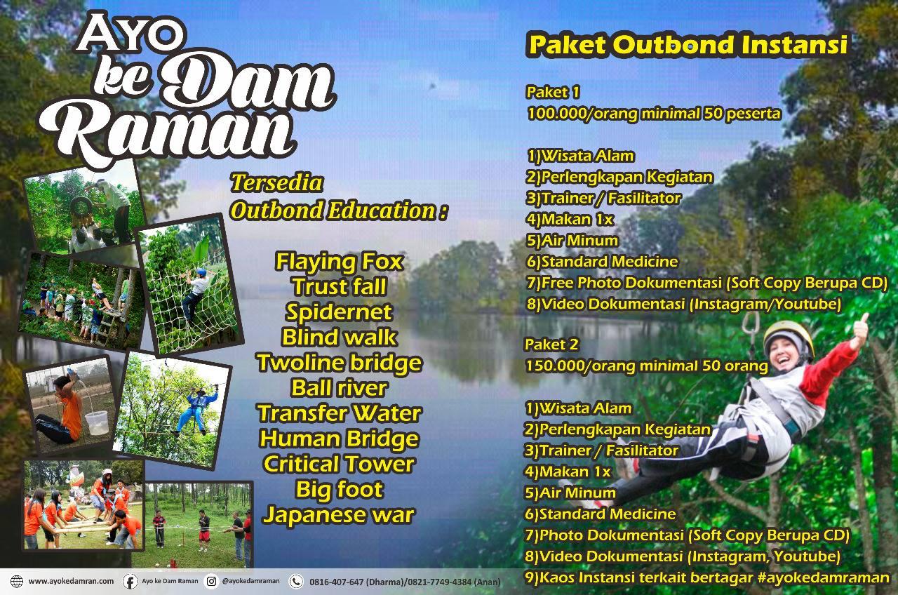 Wisata Ayo ke Dam Raman