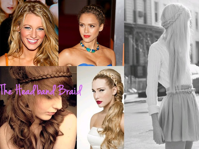 different braids, types of braids, braid, braid bible, how to braid, hair inspiration, hair, hair styles, pretty, hair do, lesimplyclassy, lesimplyclassy blog, le simply classy, le simply classy blog, samira hoque, styling, headband braid, braided headband, double headband braid, double headband braided, the headband braid, how to do a double headband braid, how to do a headband braid, blake lively, jessica alba, tumblr, tumblr headband braid, easy headband braid, easy hair dos, formal hair styles