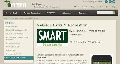 Michigan Parks Go Mobile