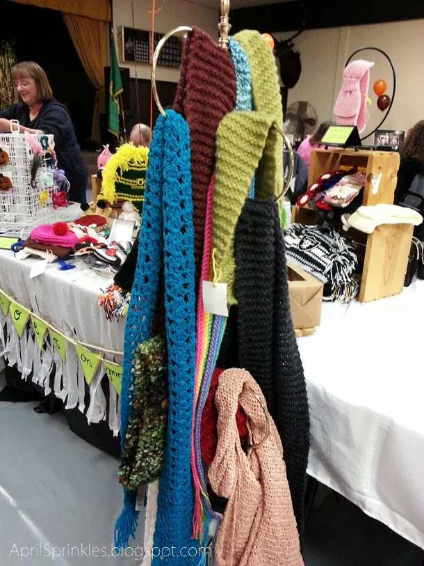 April Sprinkles blog: Craft fair with ShoesOnYourHead