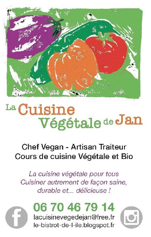 @La Cuisine de Jan, Chef Vegan, Artisan Traiteur et Cours de Cuisine VéGétaLe et Bio