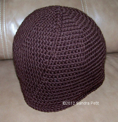 The Crochet Cabana Blog: Basic Adult Beanie in HDC