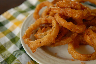 how to make onion rings with buttermilk