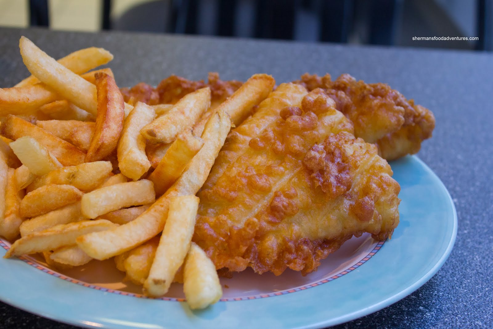 Sherman 39 s food adventures al jan 39 s fish chips for Fish chips