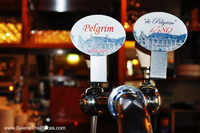 Beer Taps De Pelgrim Delfshaven Rotterdam