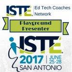 ISTE Playground Presenter 2017