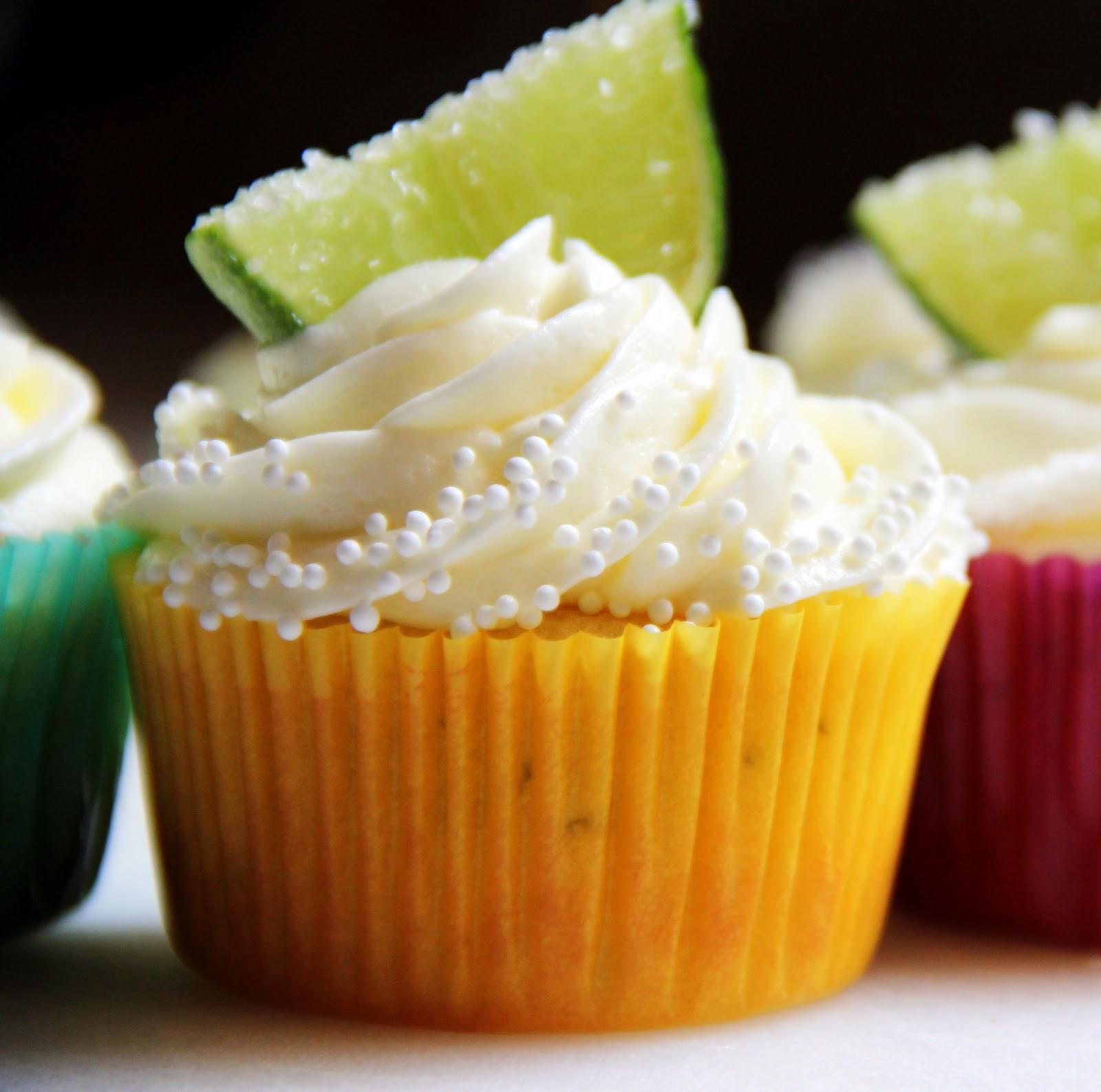 Margarita-Lime CupCakes