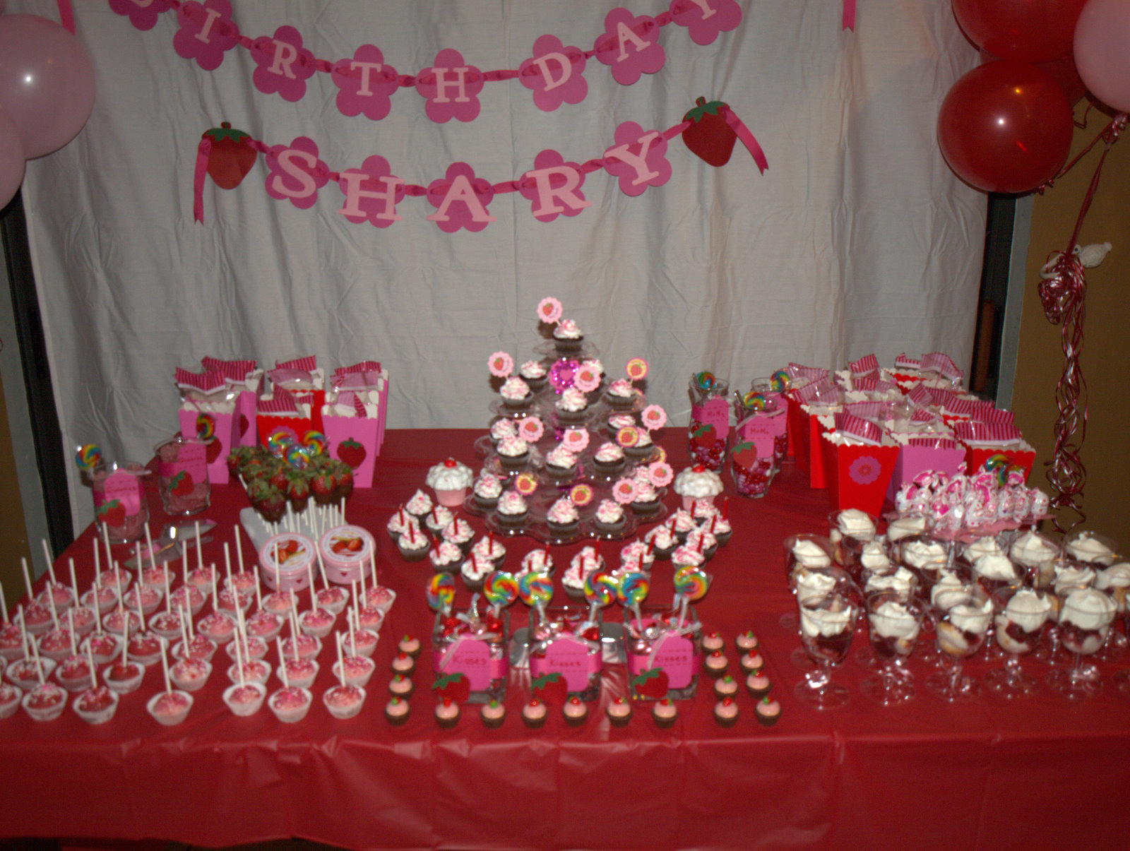 juneill 39 s parties sweets shary 39 s strawberry shortcake