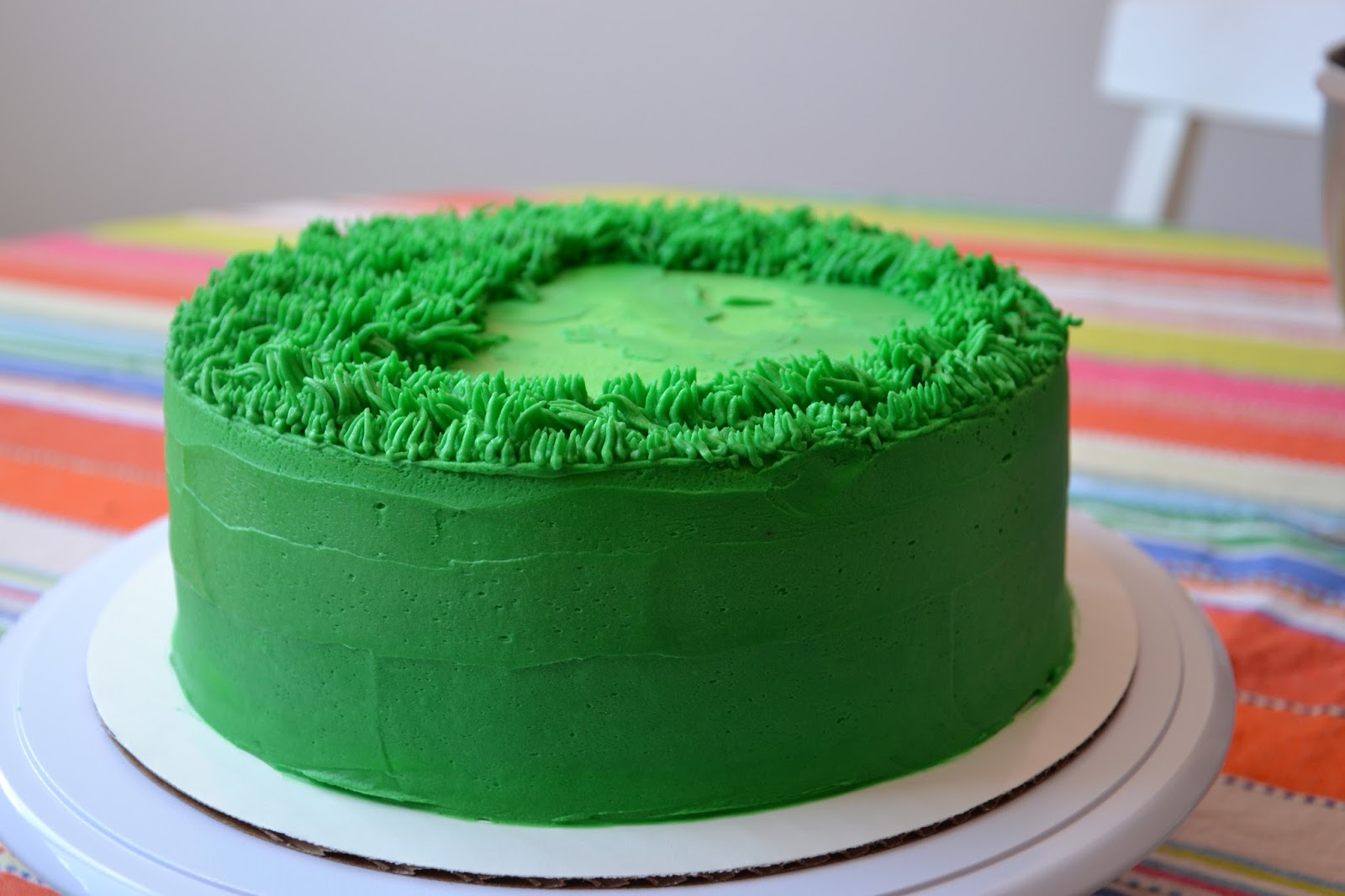 Cake Decorating Making Grass : The Sugary Shrink: Stay Off The Grass, Dude