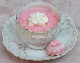 Pink Tapioca in a Teacup