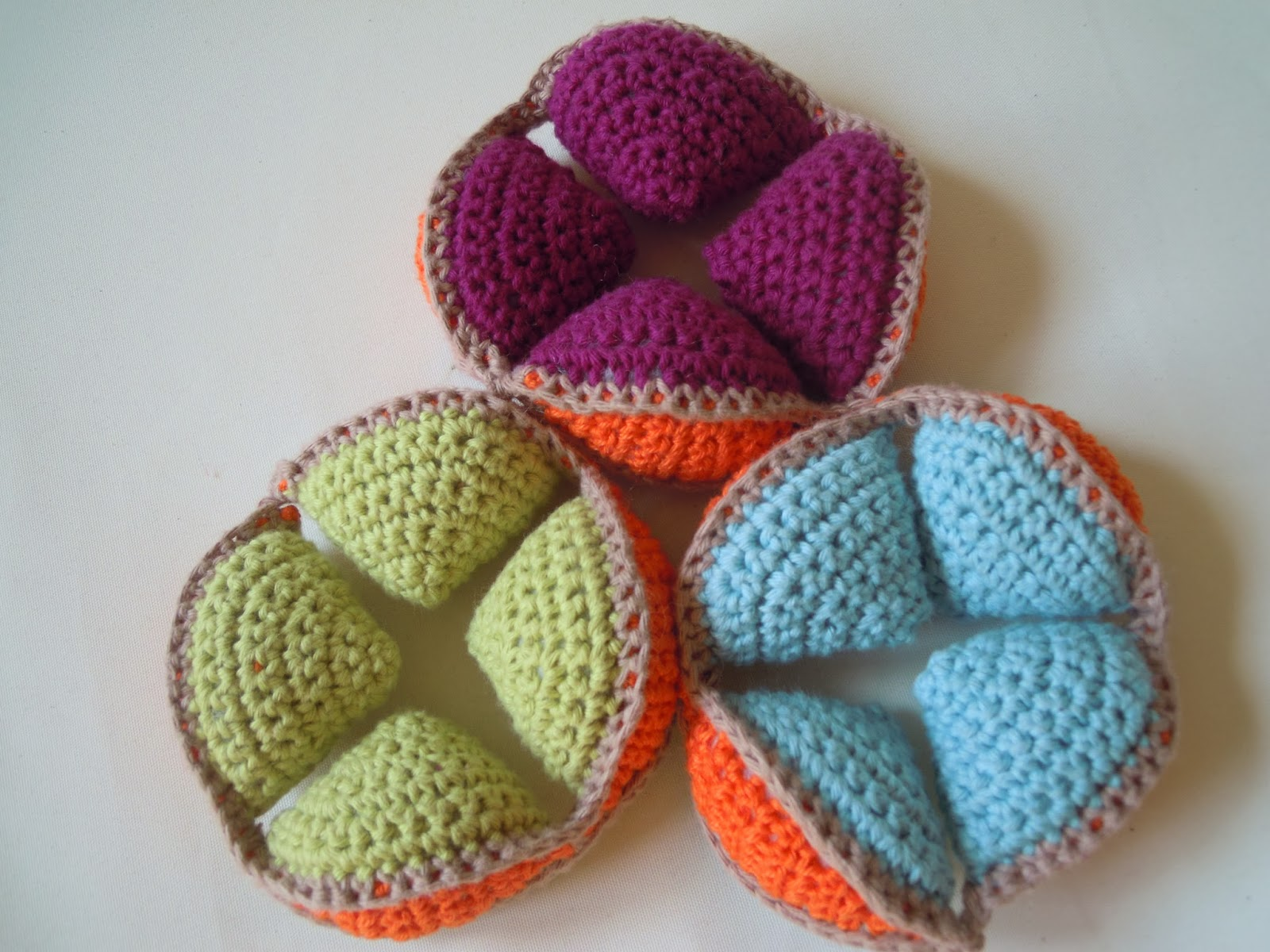 Bastelspaß mit Hasekind: Anleitung Link - Amish Puzzle Ball