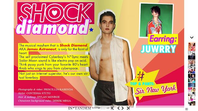 Shock Diamond in InTandem Mag!!!