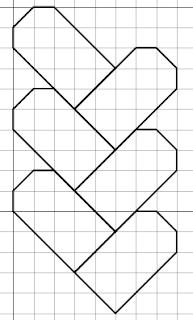 woven free blackwork pattern
