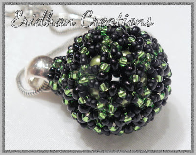 beaded sphere pattern