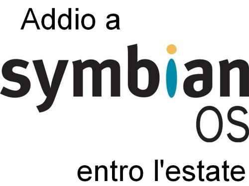 Nokia ha deciso di bloccare entro l'estate 2013 la distribuzione dei terminali con symbian OS