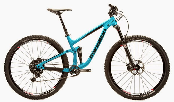 2015 Transition Bikes Smuggler Real Teal
