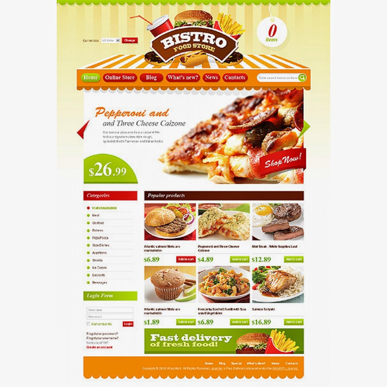 thiết kế web bán hàng bánh ngọt giá rẻ