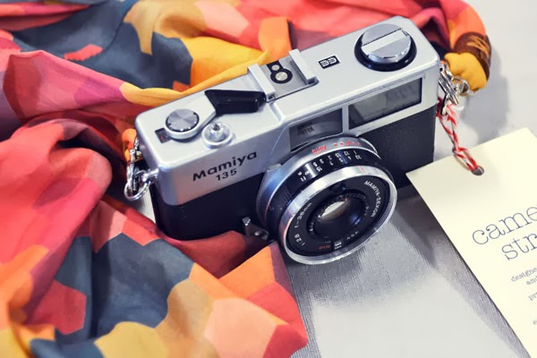 Closeup of my camera straps for sale at The Fine Design Market