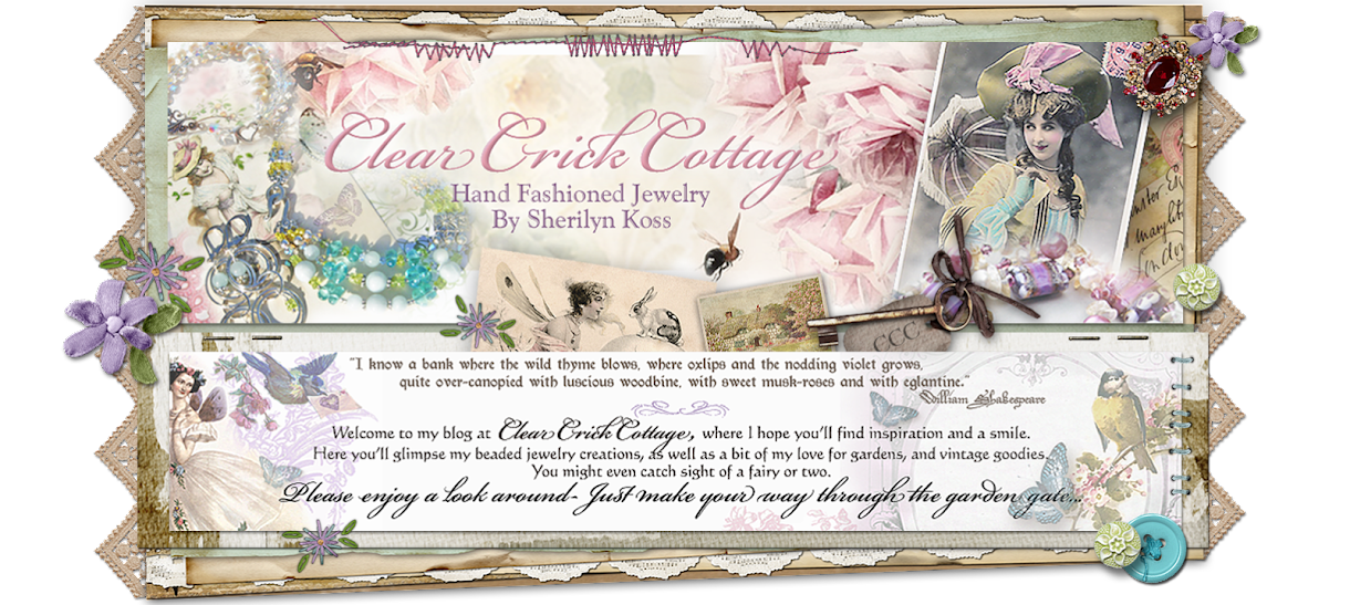 Clear Crick Cottage - Hand fashioned jewelry by Sherilyn Koss