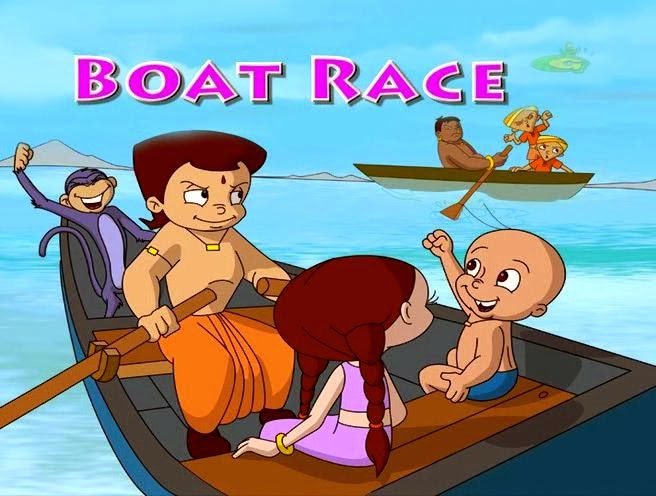 Chota Bheem Boat Race