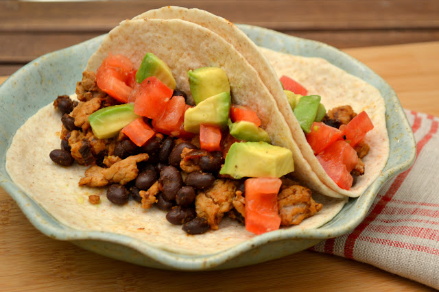 turkey and black bean taco recipe