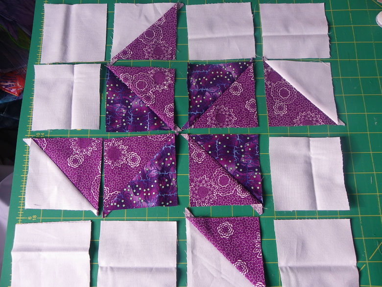 Quilt Patterns Using Squares And Triangles : Little Island Quilting: Half square triangle quilt