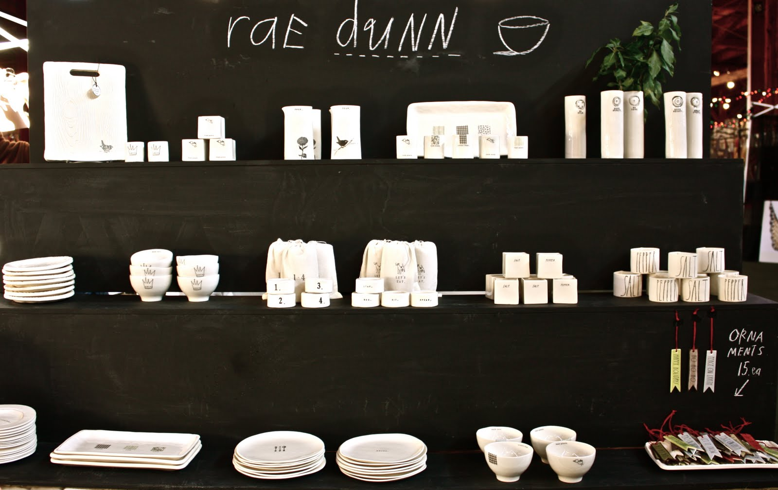 rae dunn clay a really good show