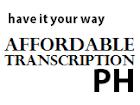 Transcribers Philippines