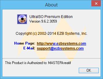 UltraISO 9.6.2 Premium Edition Full Keygen