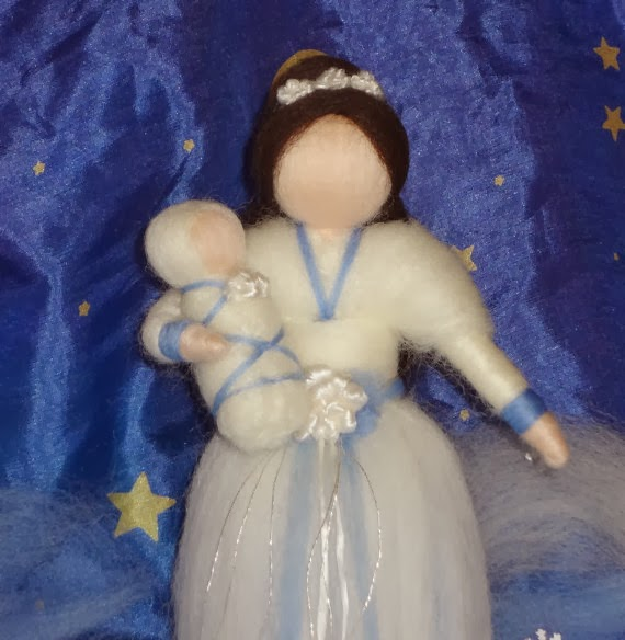 Winter Fairy from Peach Creations