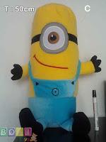Boneka Minion Mata satu tinggi 50cm