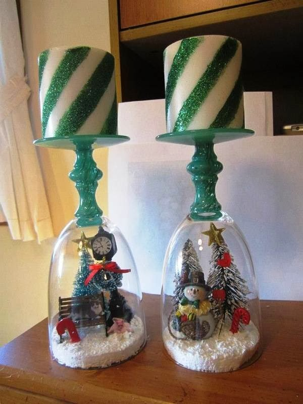 Merry christmas candle crafts ideas for kids children 2015 for Candle craft ideas