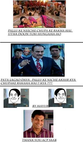 Cid Serial Funny Pictures Jokes Indian Gallery