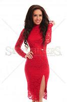 Rochie PrettyGirl Divided Red (PrettyGirl)