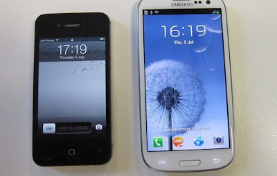 iPhone 4S and Samsung