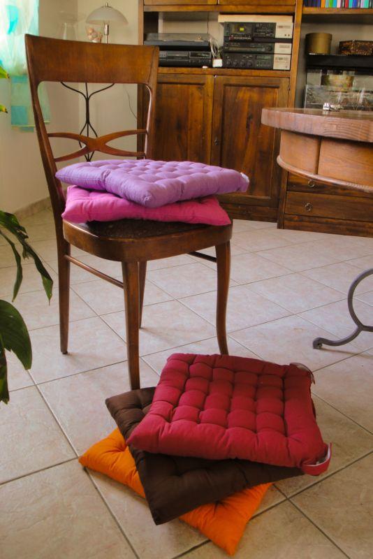 Cuscini sedie bollengo for Cuscini per sedie cucina provenzali