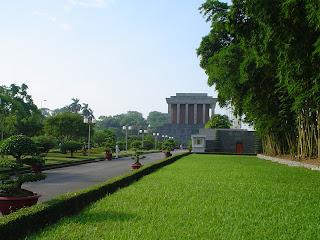 Ho Chi Minh Mausoleo di Hanoi, Vietnam