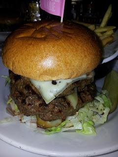 Byron Triple Cheesemas burger