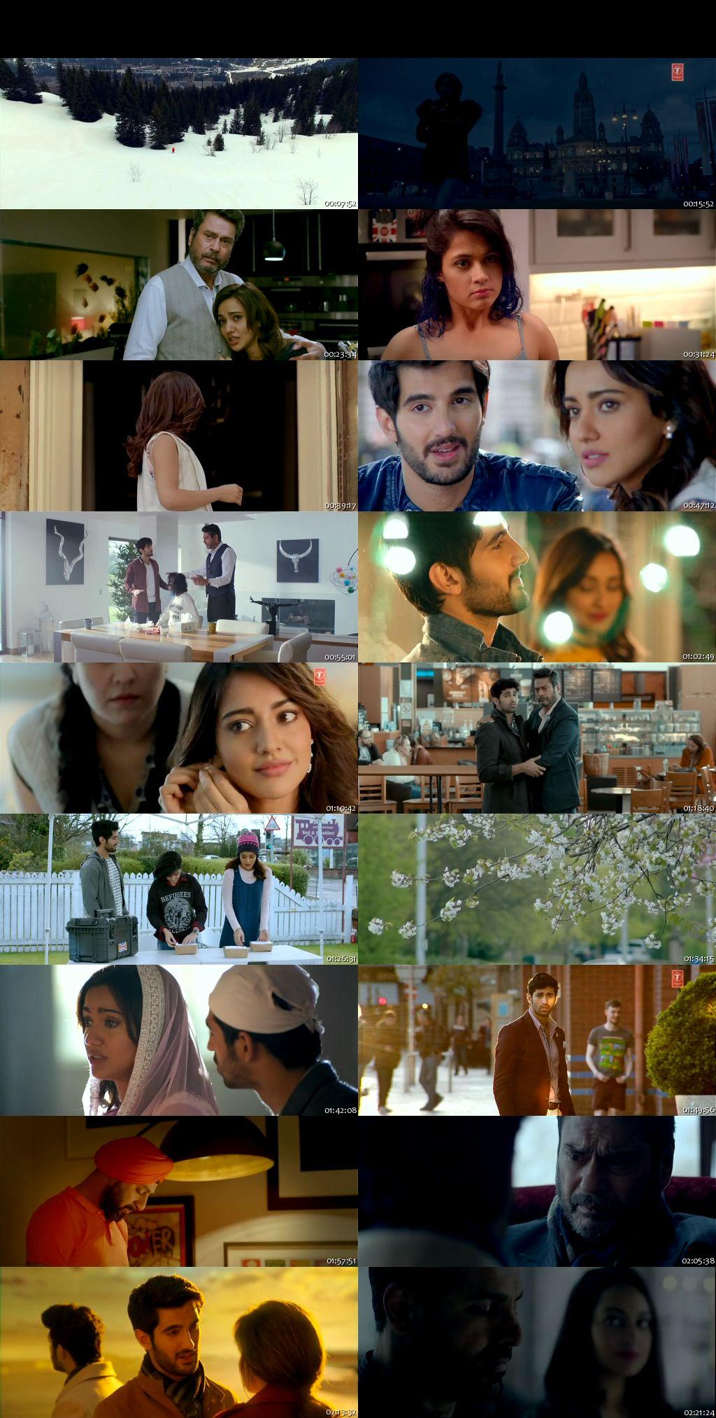 Screen Shot Of Tum Bin 2 2016 300MB DVDRip 480P Full Hindi Movie Watch Online Free Download
