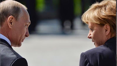 Negotiations of Putin and Merkel in Moscow on the crisis in Ukraine