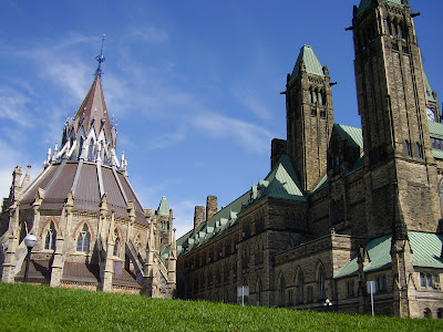 The Library of Parliament in Ottawa