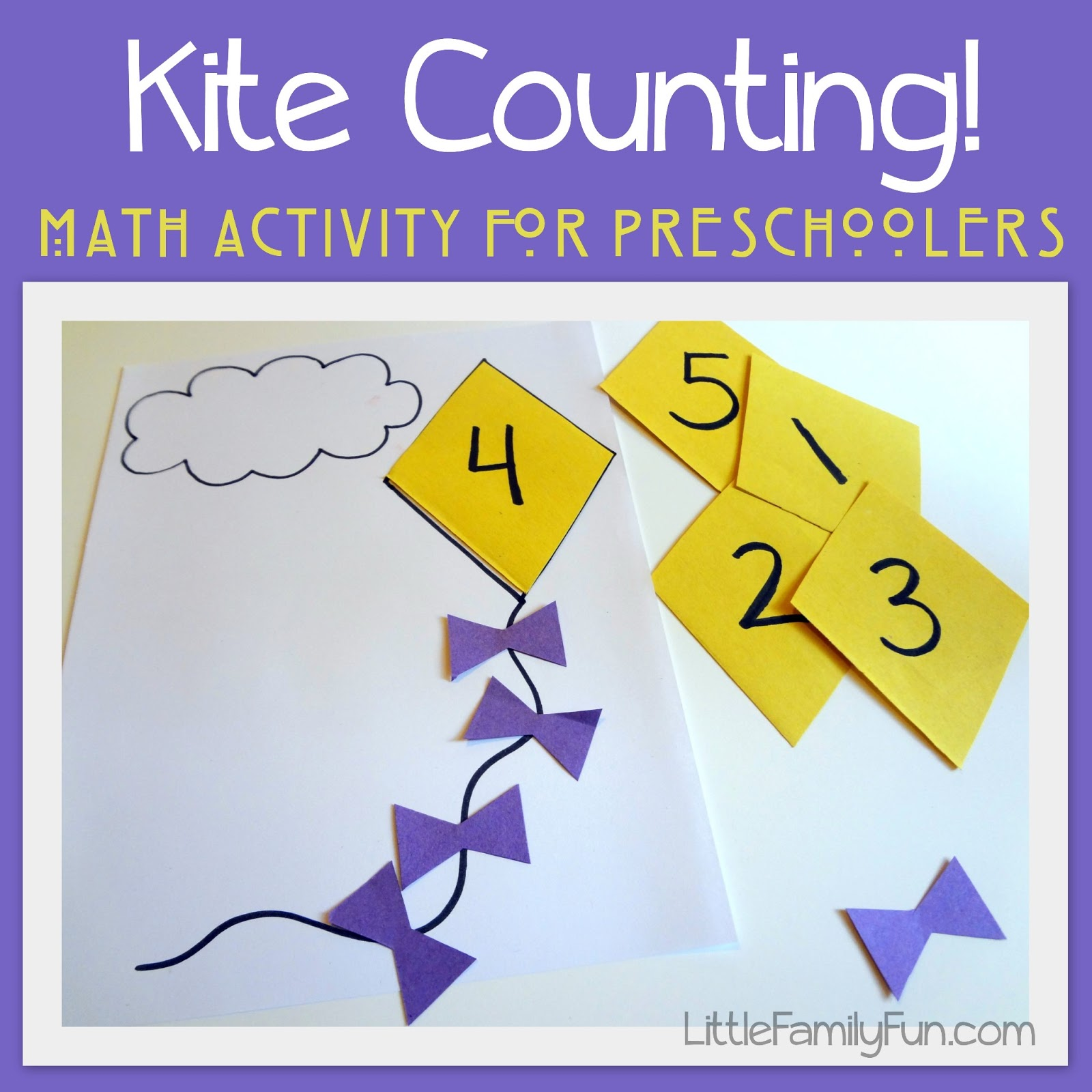Kite Activities for Preschoolers