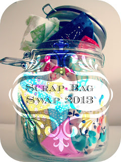 Scrap Bag Swap 2013 at notchkas-wardrobe.blogspot.com