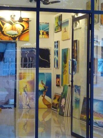 Galerie d'art à Arugam Bay