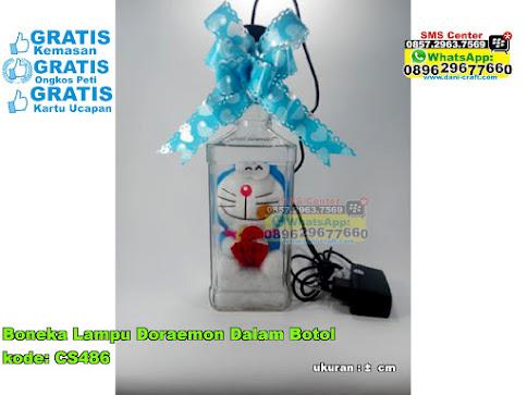 Boneka Lampu Doraemon Dalam Botol