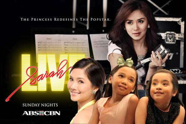 Larah Sabroso, Julia Base and Sheryn Regis on Sarah G Live! this January 27
