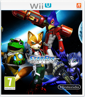 StarFox and Metroid Crossover video game for the wii u