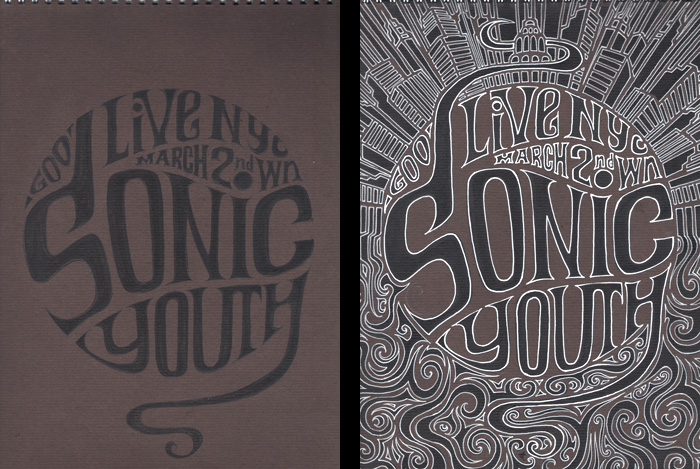 Sonic Youth (détail) by Regis Lagoeyte