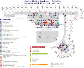 Istanbul Atatürk Airport Arrival Level